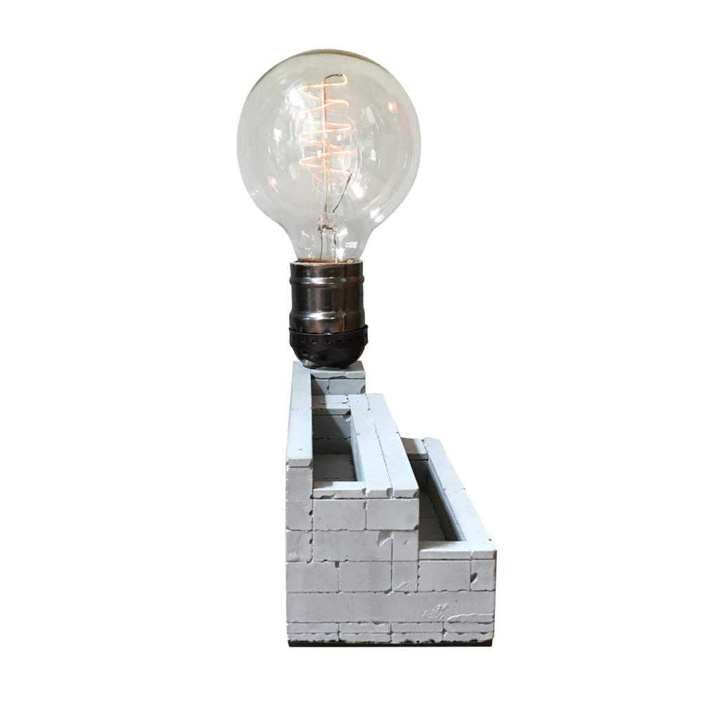 曙MUSE | 多層式樂高名片架桌燈