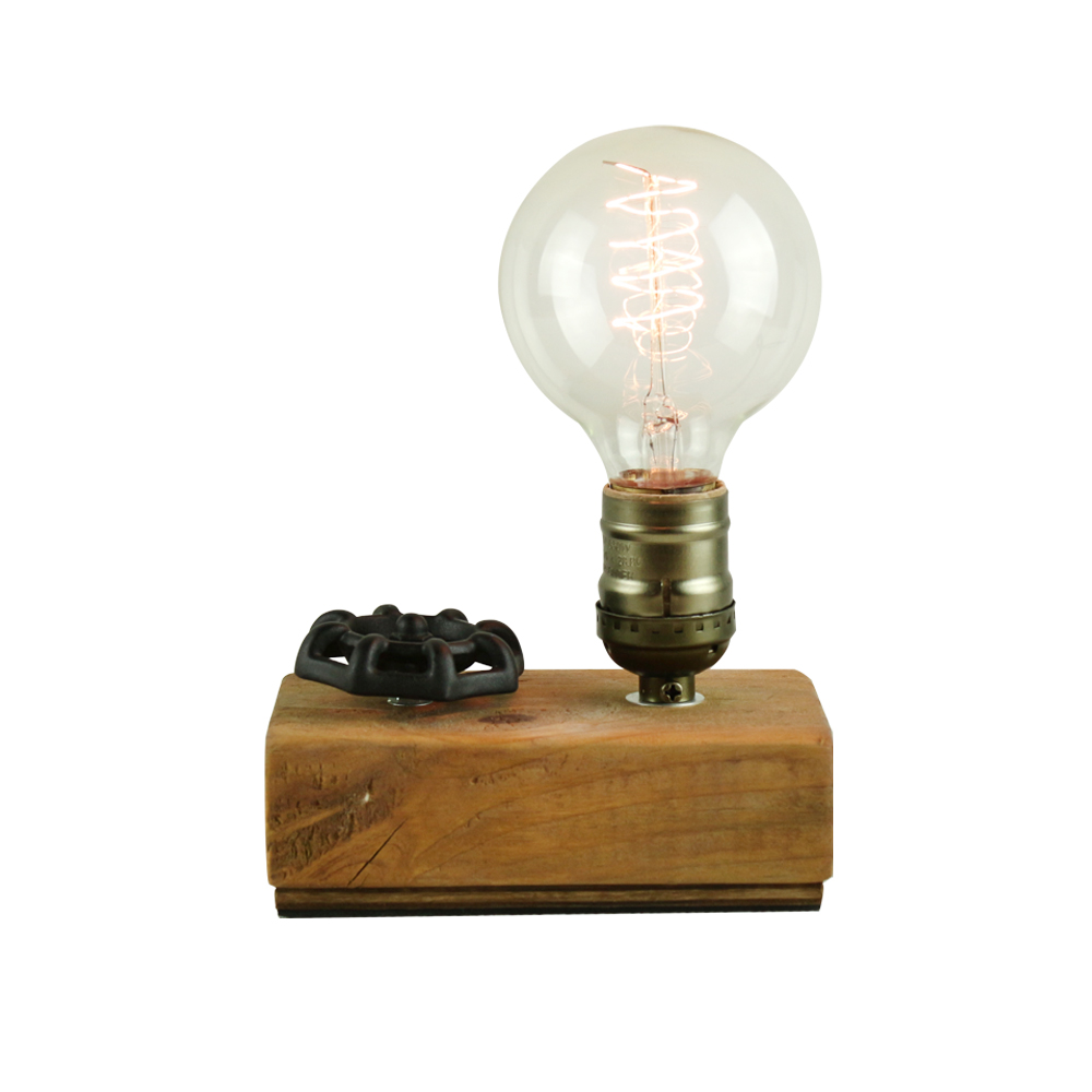 曙MUSE | 手輪木紋桌燈
