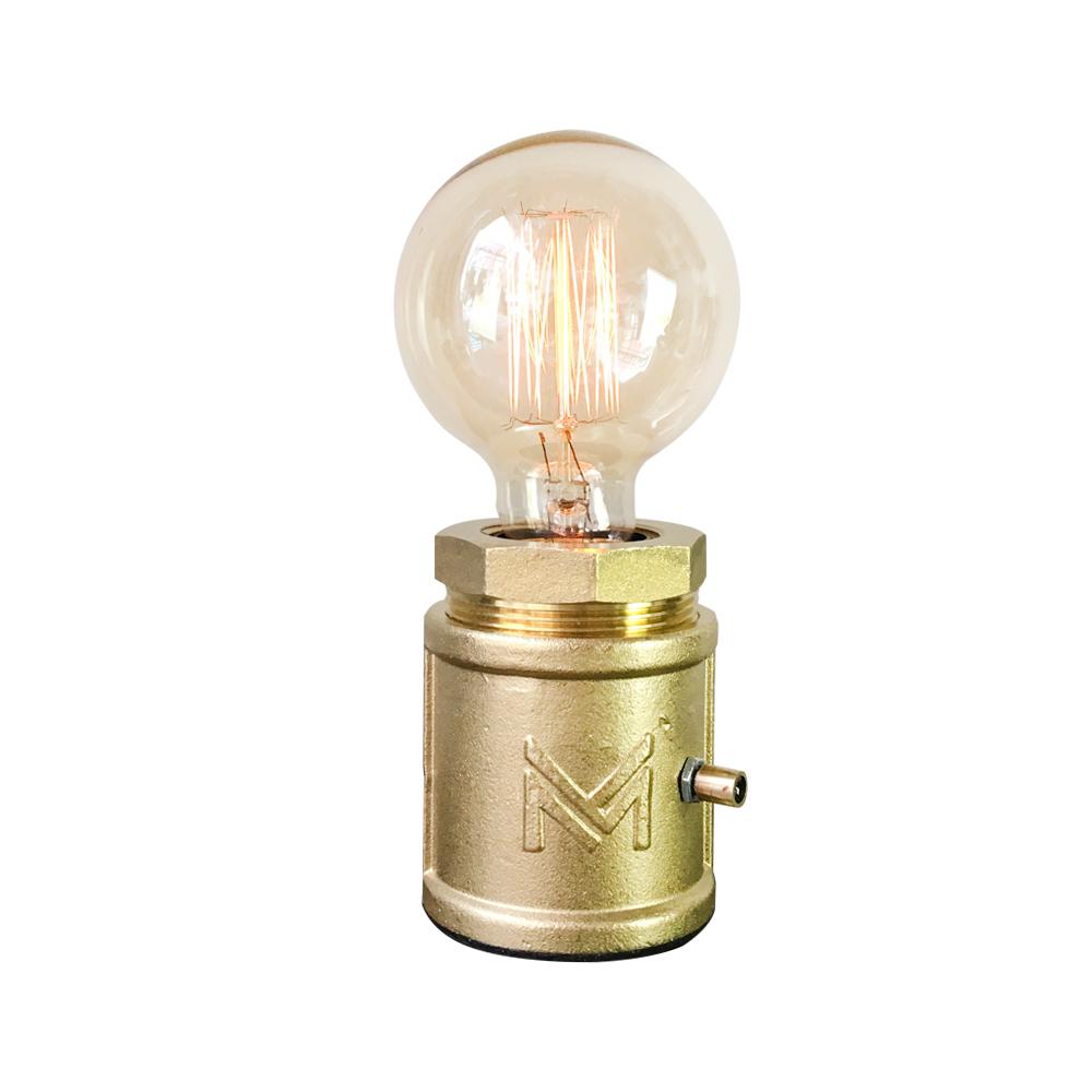 曙MUSE | 復古黃銅手輪調光