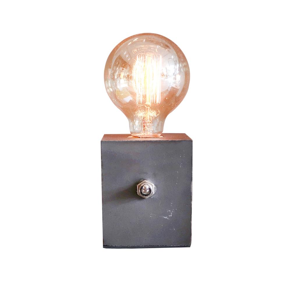曙MUSE | 搖頭開關水泥燈(兩色任選)