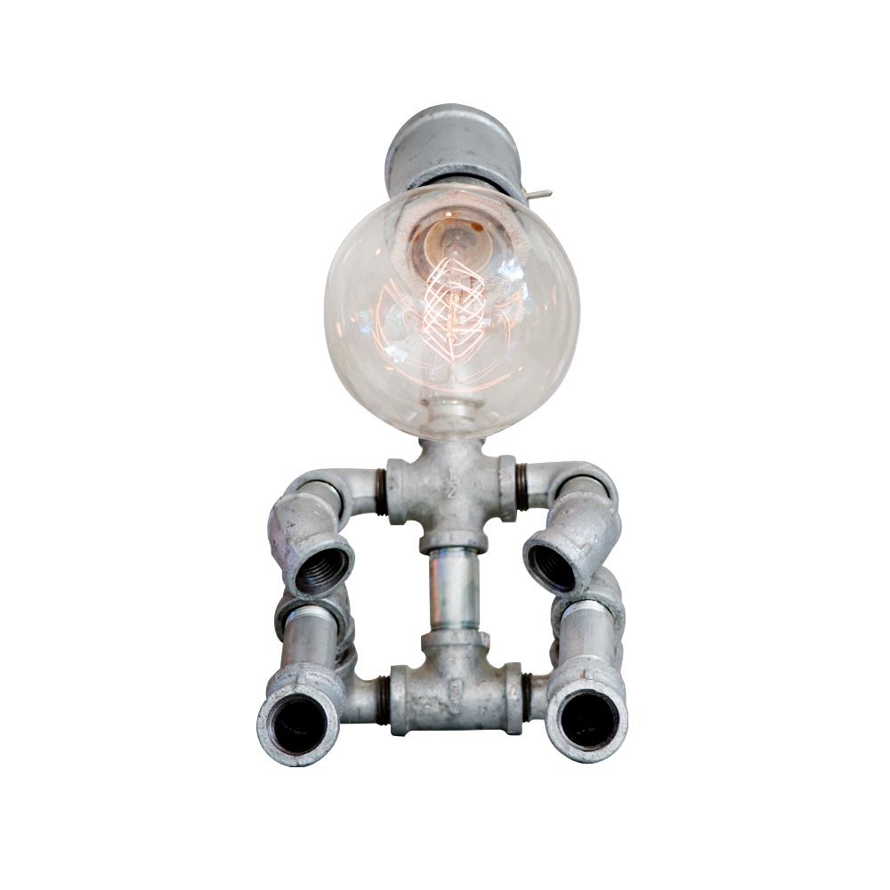曙MUSE | 搖頭開關機器人桌燈