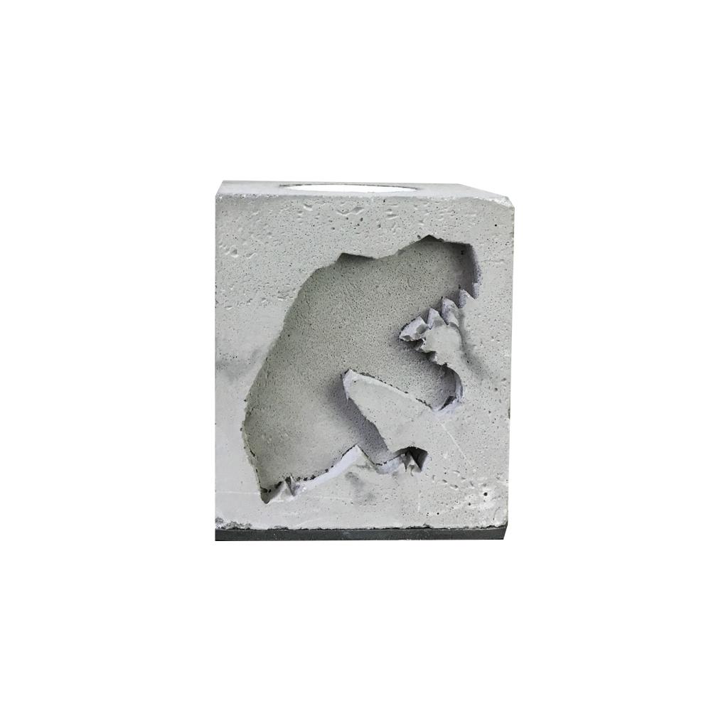 曙MUSE | 暴龍壓紋水泥質感桌燈