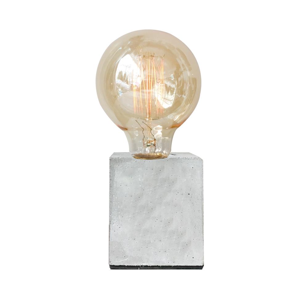 曙MUSE | 白水泥質感桌燈