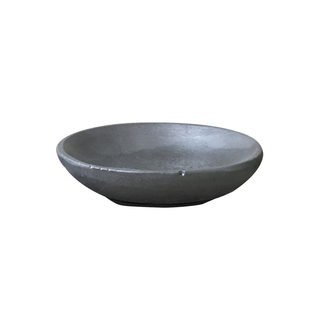 曙MUSE | 黑水泥質感圓形盤