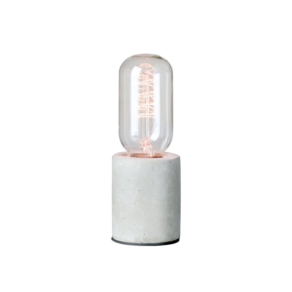 曙MUSE | 小圓柱水泥桌燈