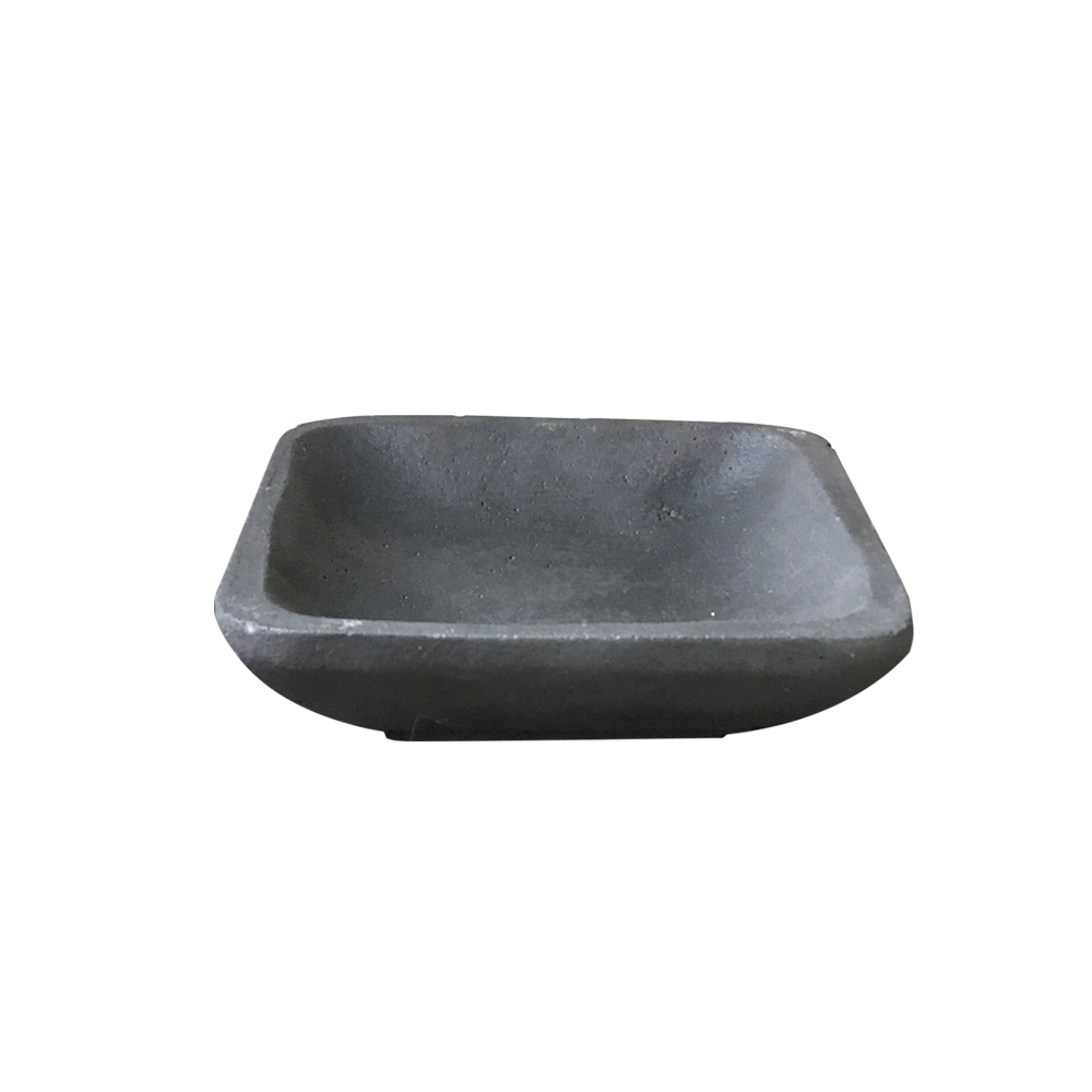 曙MUSE | 黑水泥質感方形盤