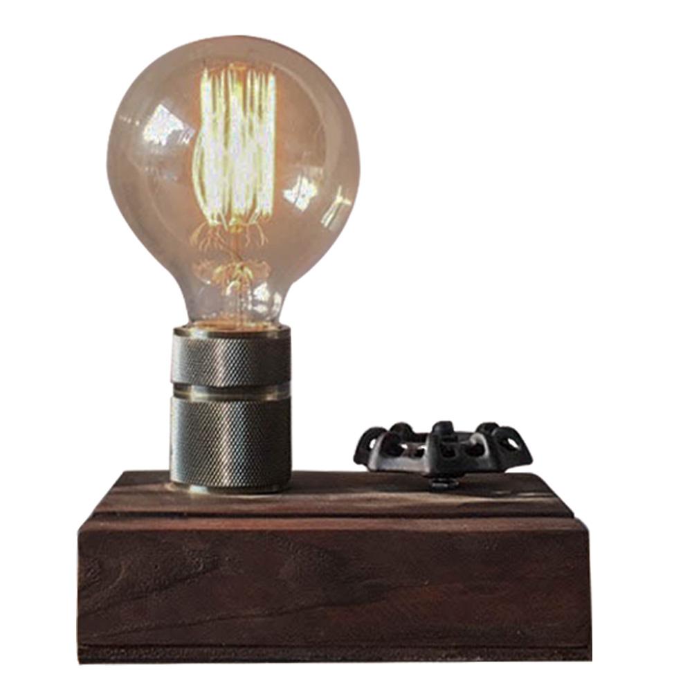 曙MUSE|手輪調光木質名片架桌燈