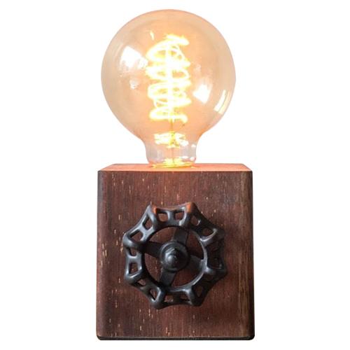 曙MUSE|木質手輪調光桌燈