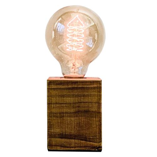 曙MUSE 質感木紋柱桌燈