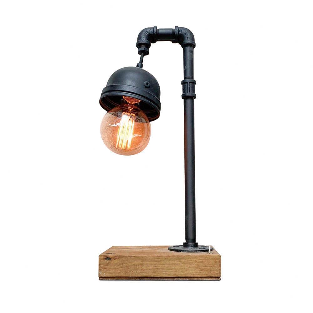 曙MUSE | 工業風水管造型桌燈