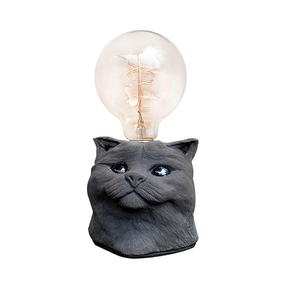 曙MUSE | 金吉拉貓咪桌燈(兩色可選)