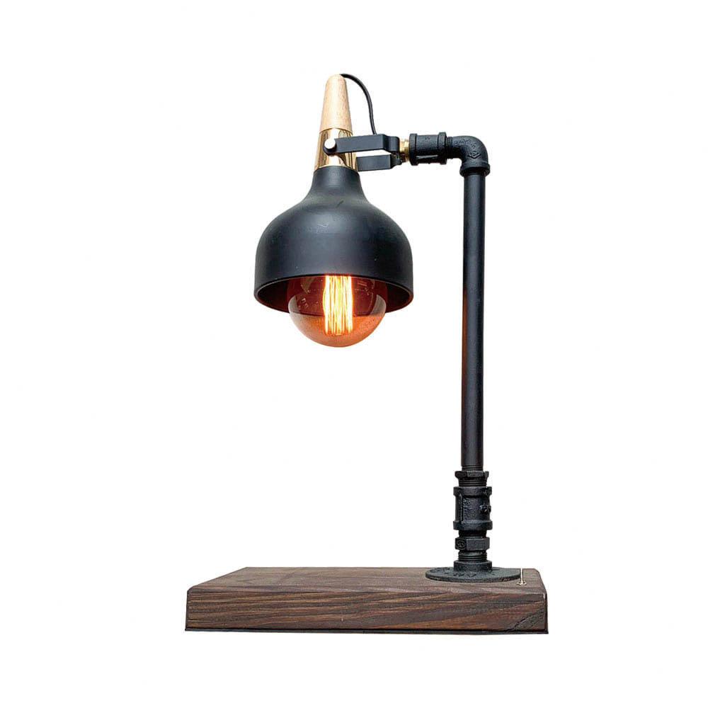 曙MUSE | 現代工業風質感桌燈