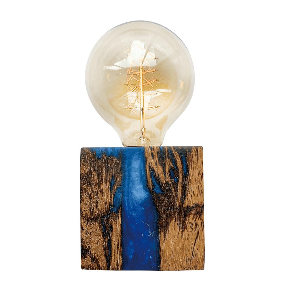 曙MUSE | 原木星空樹脂桌燈