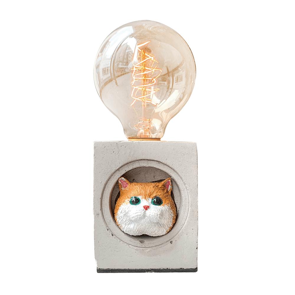 曙MUSE | 英國短毛可愛小喵咪桌燈