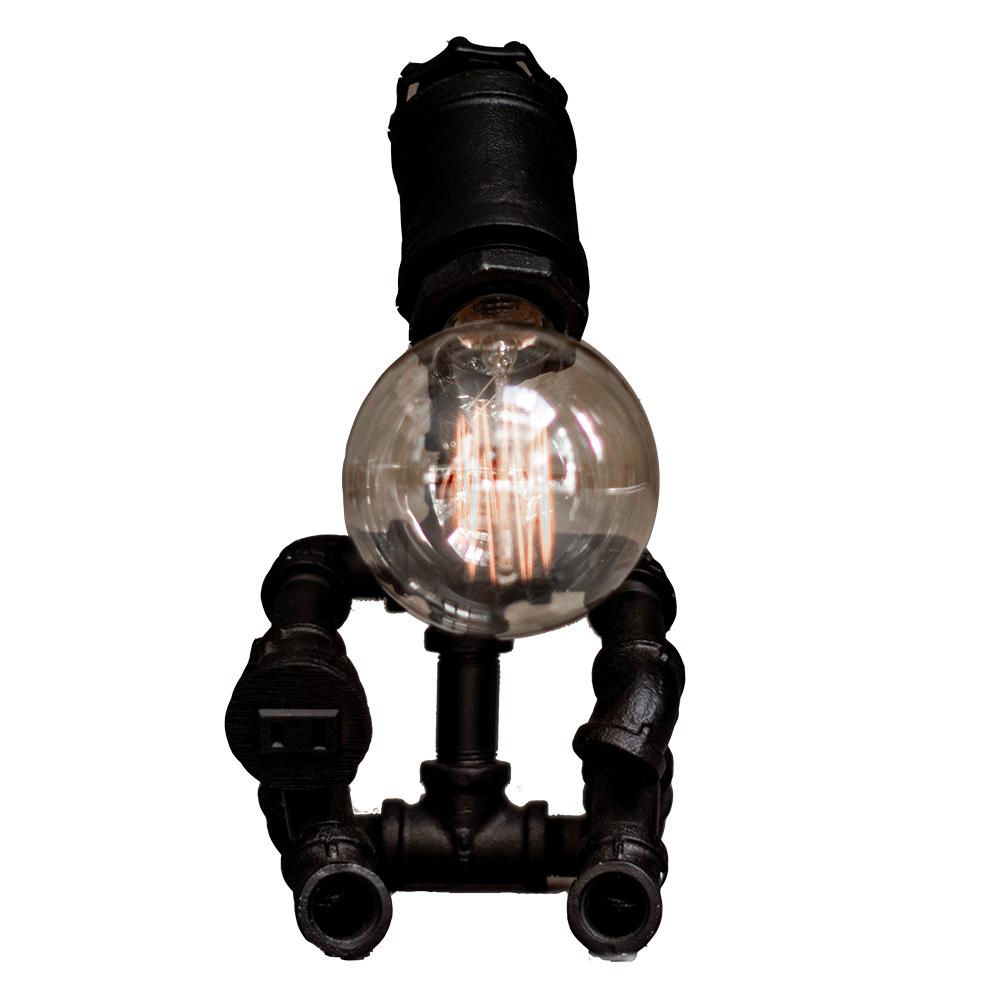 曙MUSE|機器人水管手機架桌燈