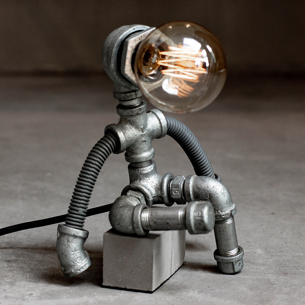 曙MUSE   Super水管機器人可調光桌燈