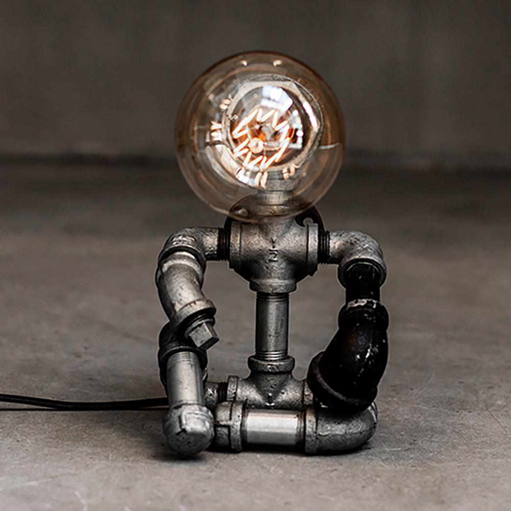曙MUSE | 大猿王槍水管機器人桌燈