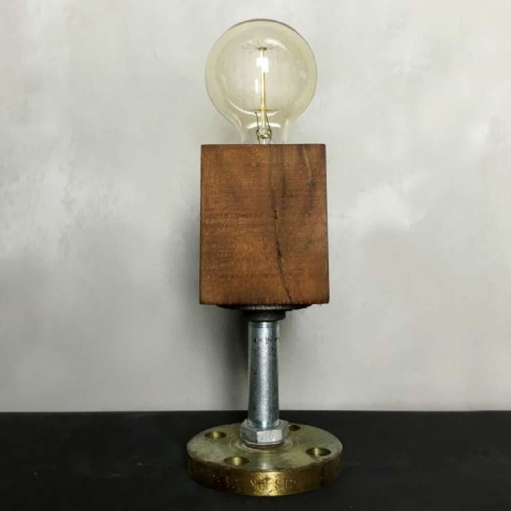 曙MUSE|工業水管質感檯燈(可調光)