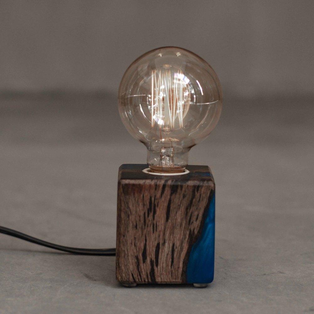 曙MUSE|(限量)水晶環氧樹脂木質燈飾