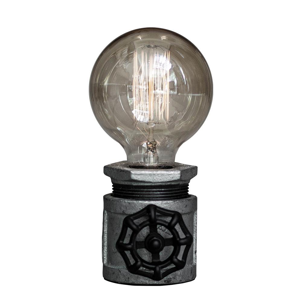 曙MUSE|工業風水管造型桌燈