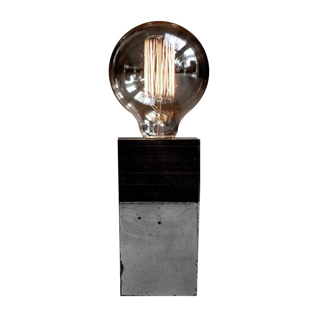 曙MUSE |工業風水泥桌燈