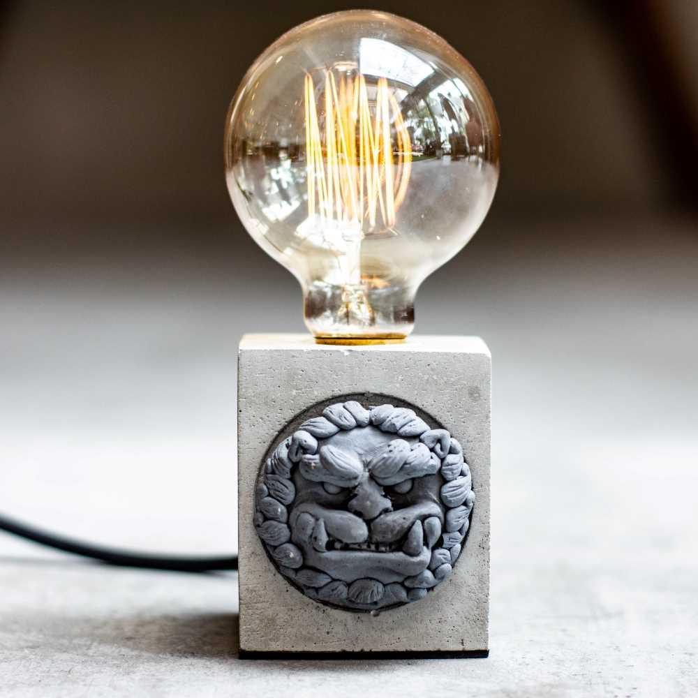 曙MUSE|四十四隻石獅子氣氛桌燈
