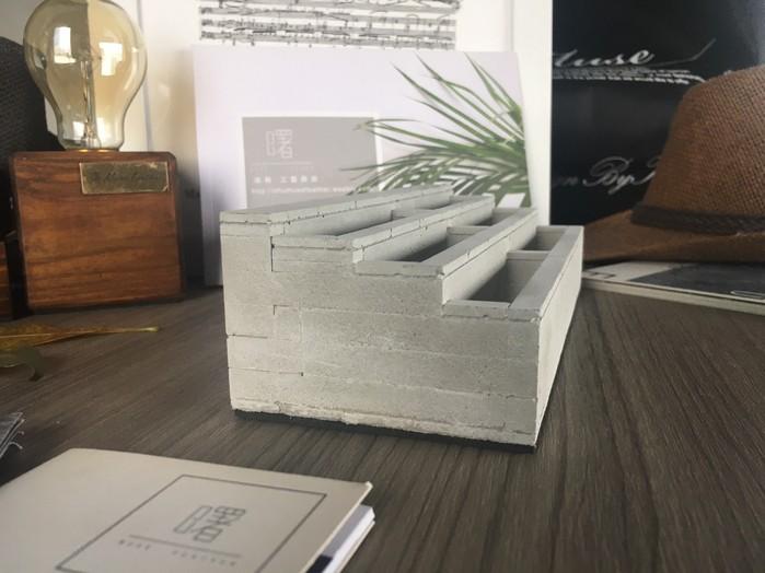曙MUSE 磚紋多層名片架