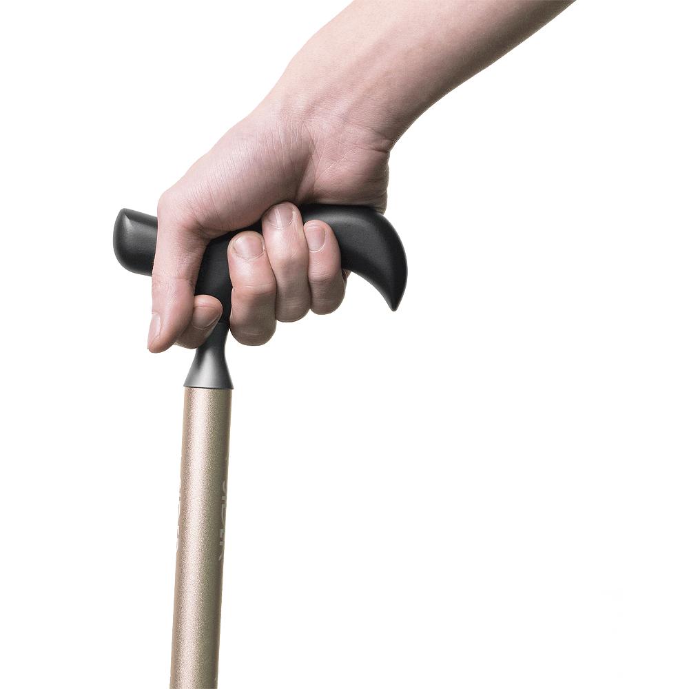 SIDER 萬用手杖-粉鈦(送穩杖片)
