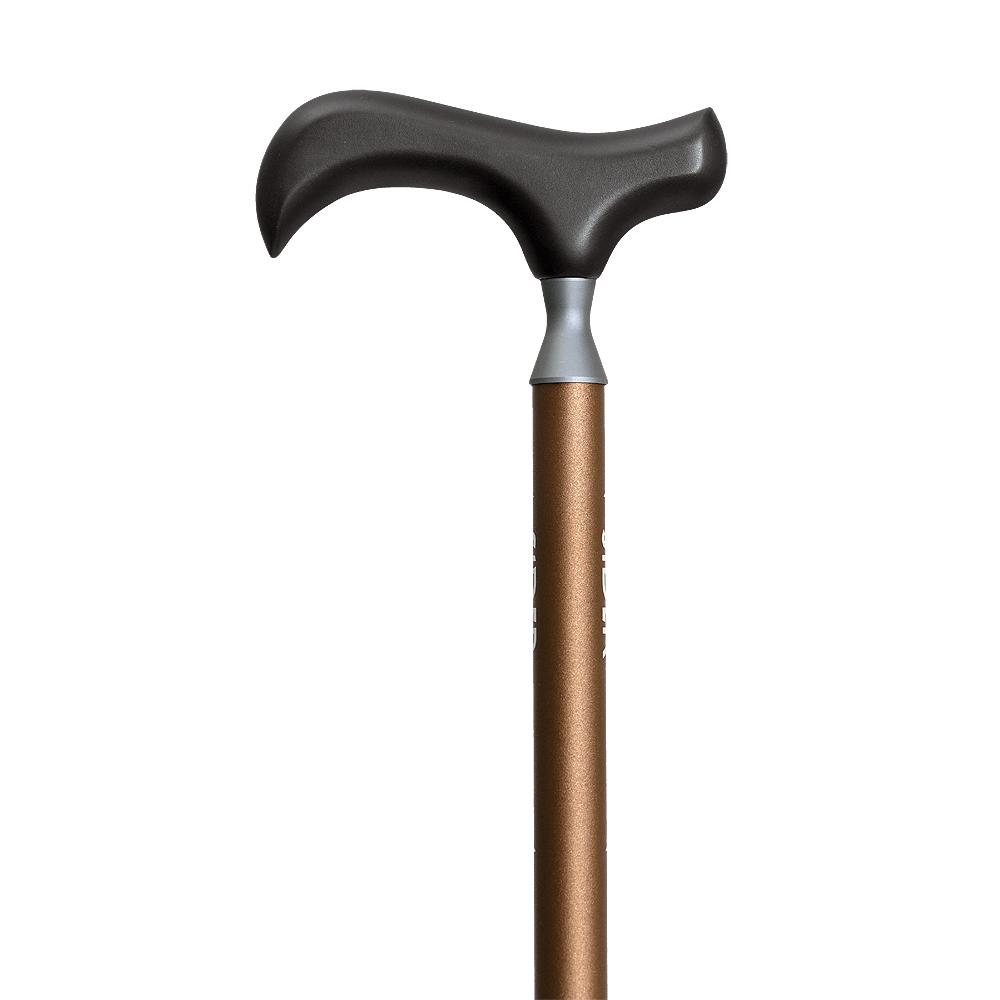 SIDER|輕巧四折杖 - 雀棕 (送穩杖片)