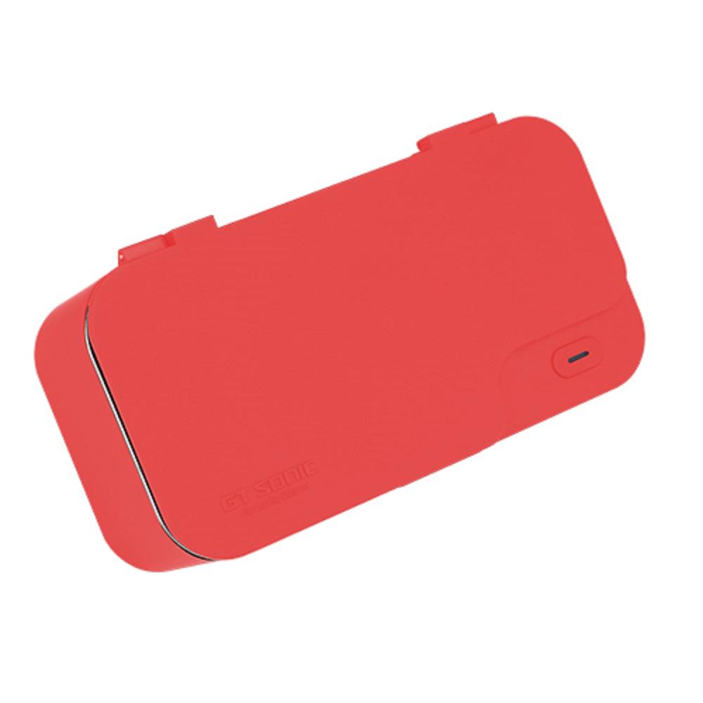 GT SONIC|可攜式超聲波清洗機X1【紅色】
