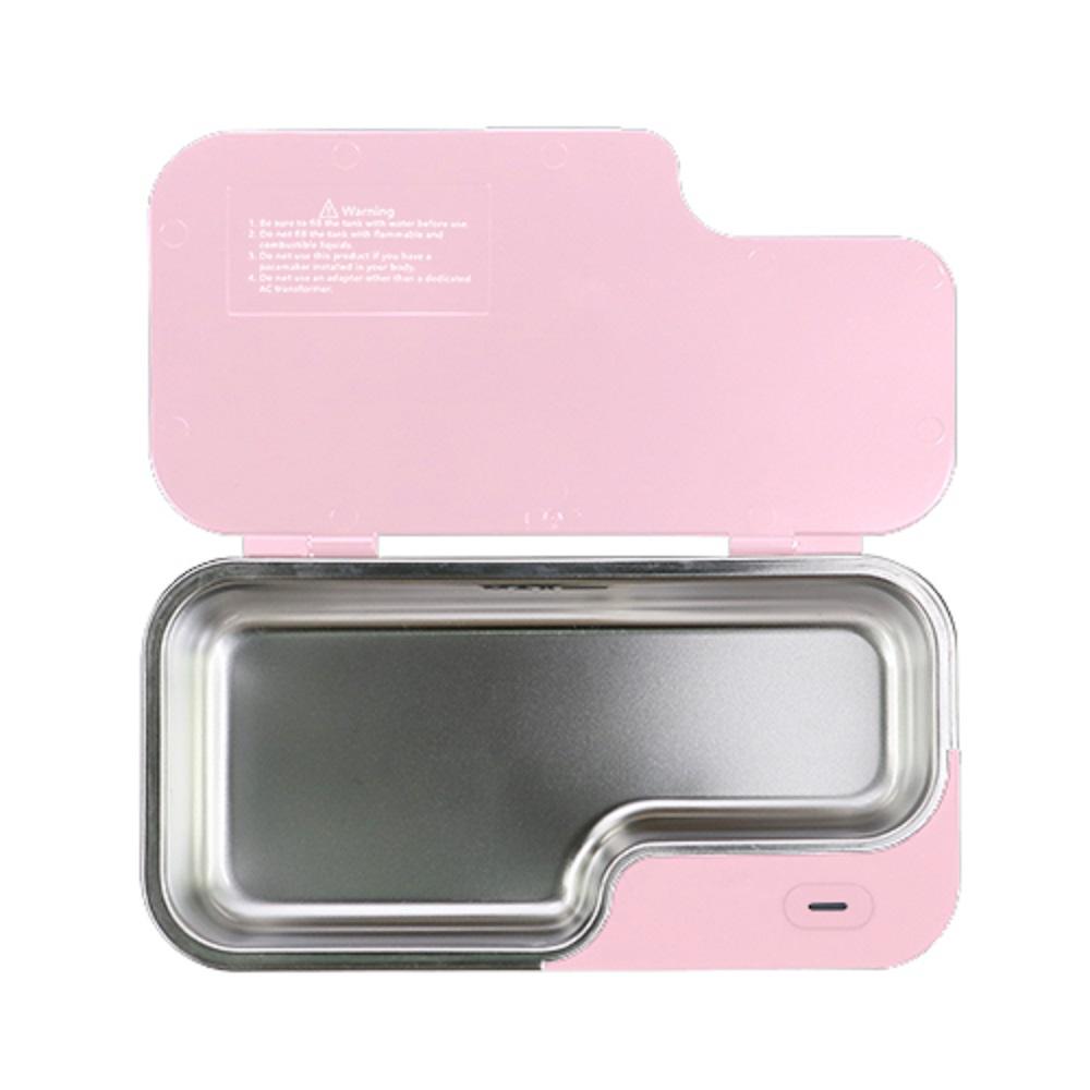 GT SONIC|可攜式超聲波清洗機X1【粉紅】贈專用收納袋