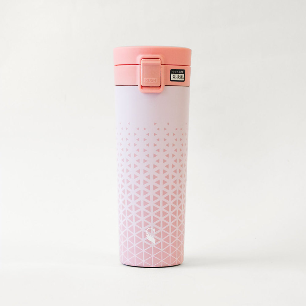 Swanz|陶瓷輕扣保溫杯 390ml