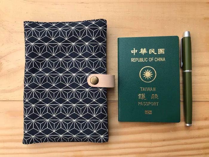 (複製)南方設計|藍染護照套萬用袋