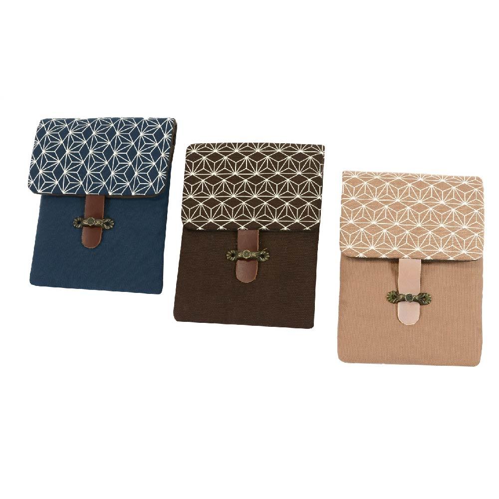 南方設計|手工絹印 鐵窗花 鋼筆袋