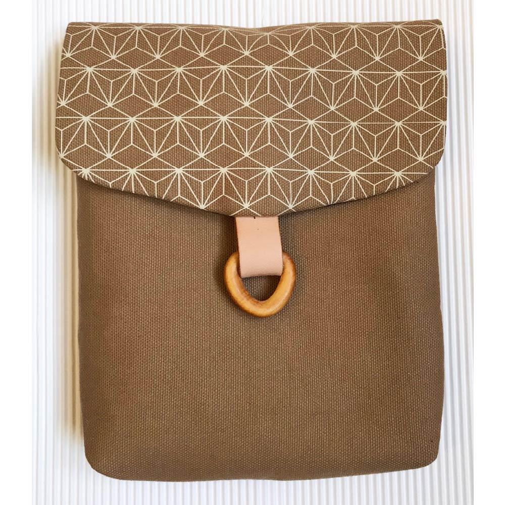 南方設計|手工絹印 鐵窗花 側背包