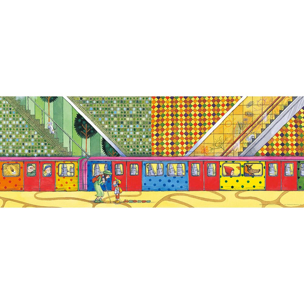雷諾瓦拼圖文化坊|童話列車/地下鐵/幾米/長幅/1000片