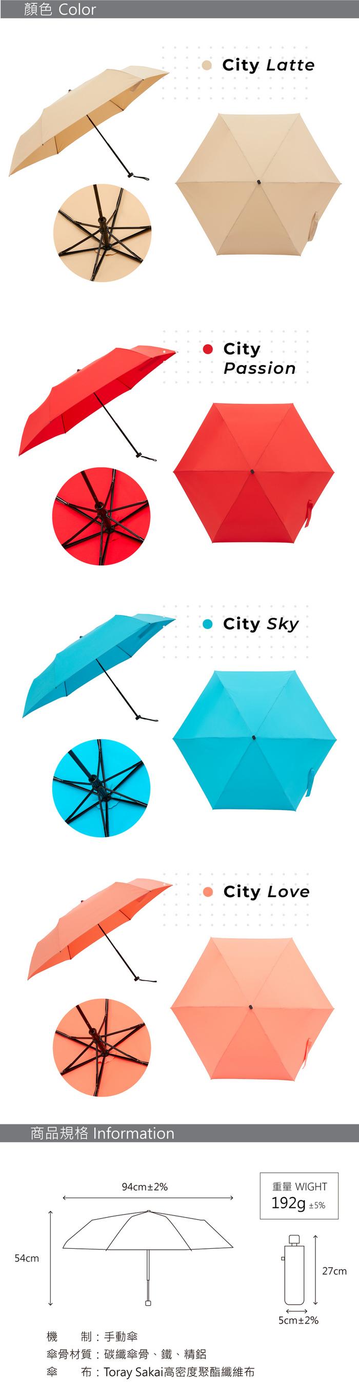 (複製)MECOVER|完美防曬-零透光黑膠加大手開傘-愛心水漾藍
