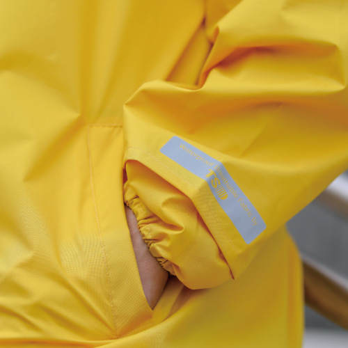 MECOVER|東麗酒伊織染超輕風雨衣-籐黄