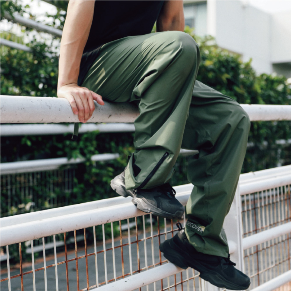 MECOVER 機能防水雨褲/ M-L(松葉)