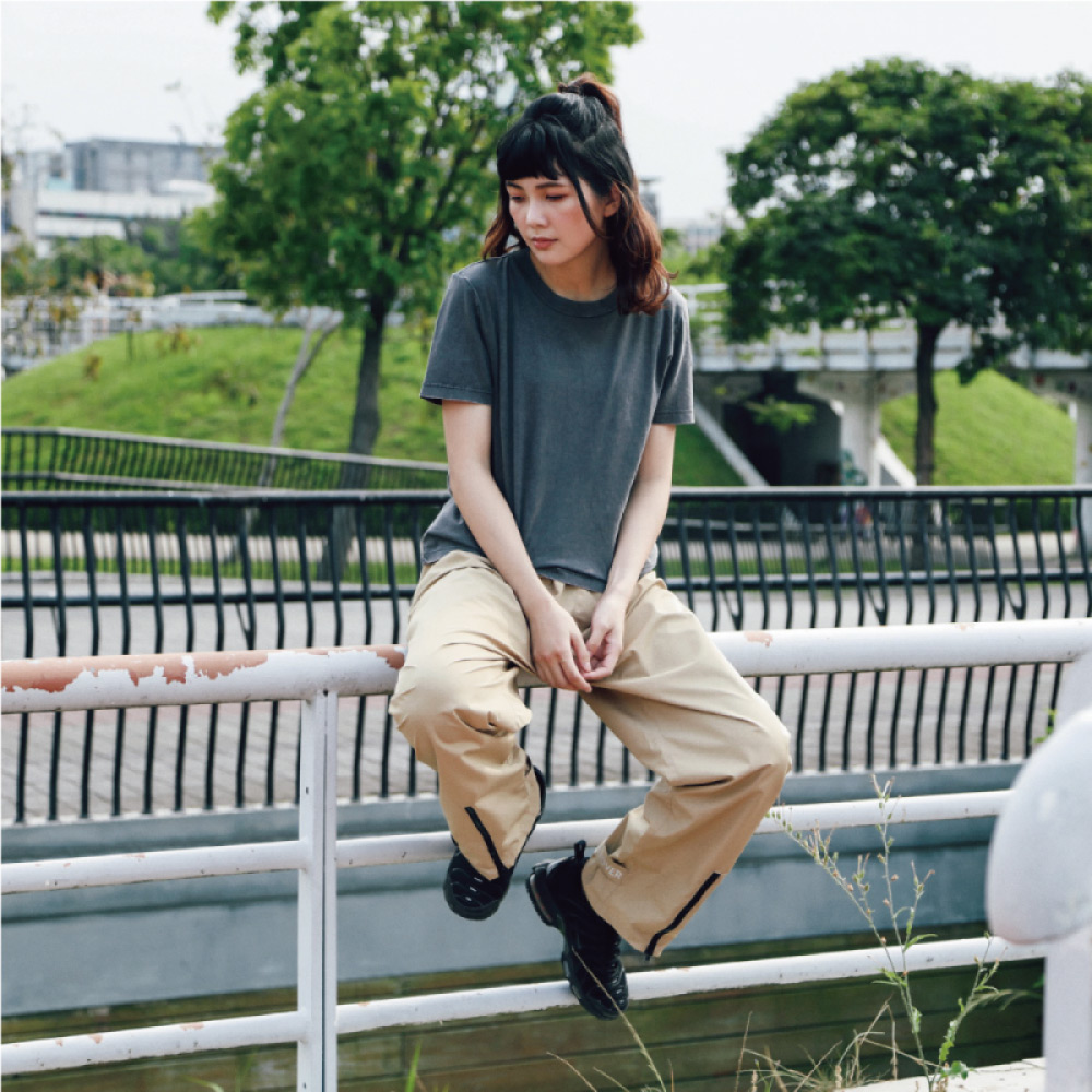MECOVER|機能防水雨褲/ M-L(奶茶)