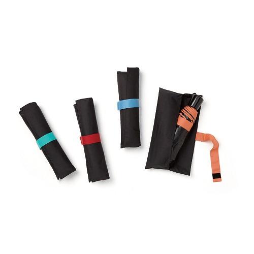 MECOVER|完美防曬-零透光黑膠加大手開傘-愛心水漾藍