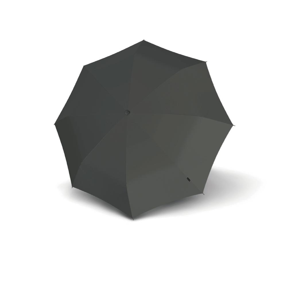 Knirps德國紅點傘|X1 膠囊五折傘-Dark Grey