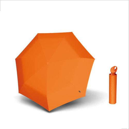 Knirps德國紅點傘|Floyd超輕三折自動傘 -Orange