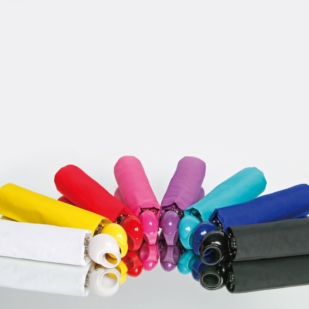 Knirps德國紅點傘|Floyd超輕三折自動傘 -Pink