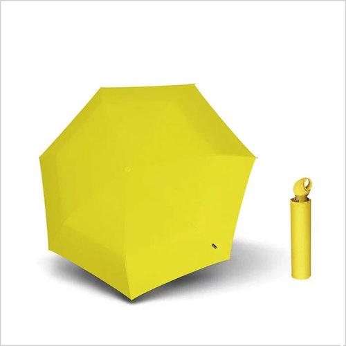 Knirps德國紅點傘|Floyd超輕三折自動傘 -Yellow