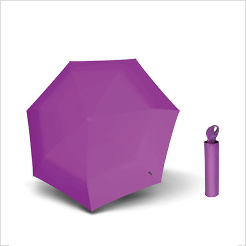 Knirps德國紅點傘 Floyd超輕三折自動傘 -Violet