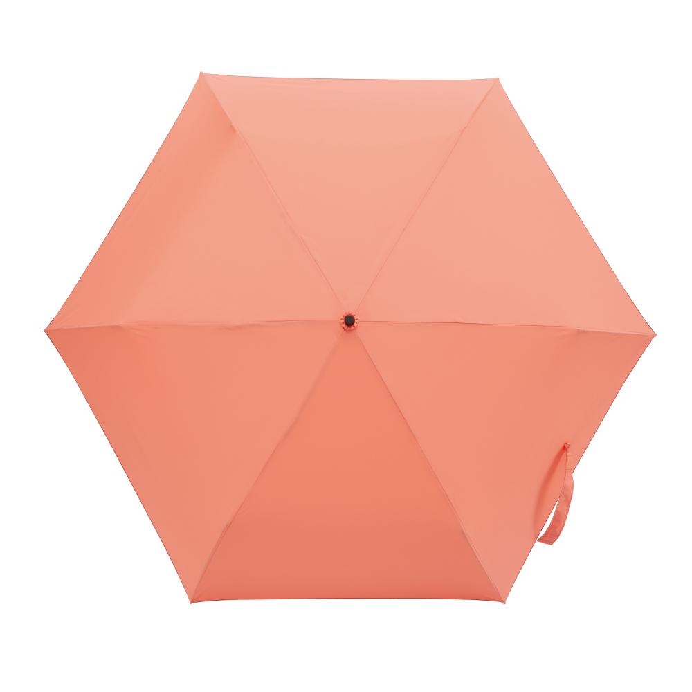 MECOVER|City Mini東麗酒伊面料加大手開傘-Love(橙色)