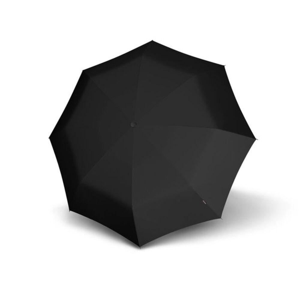 Knirps德國紅點傘|X1 膠囊五折傘-Black