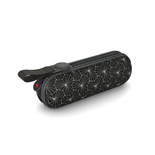 Knirps®德國紅點傘|X1 膠囊五折傘-Lotus Black