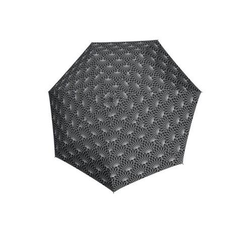 Knirps®德國紅點傘 X1 膠囊五折傘-Renature Black